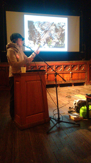 Marilaine Savard shares her experience with the Lac-Mégantic oil train explosion with Baltimore