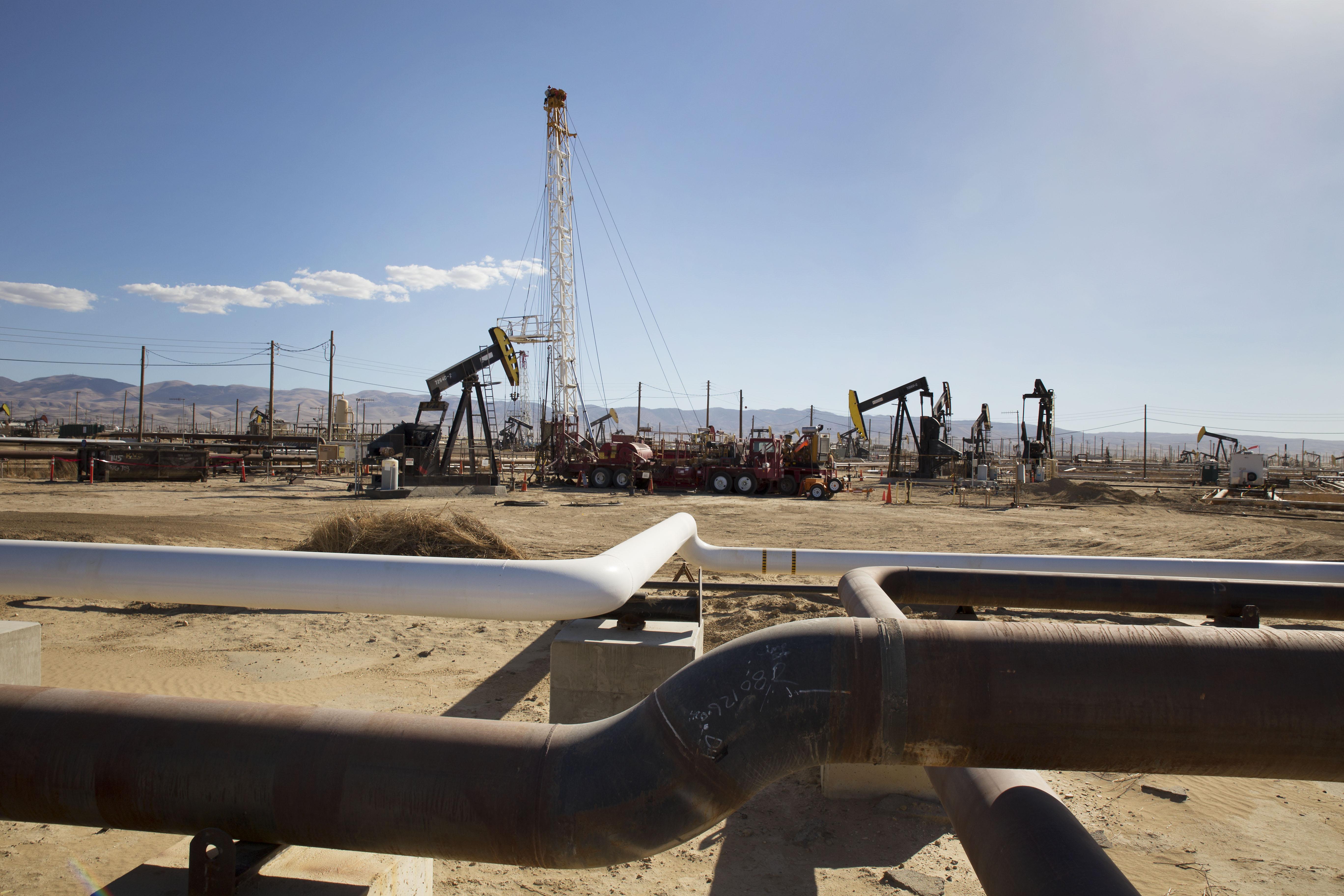 Belridge oil field. Credit Sarah Craig