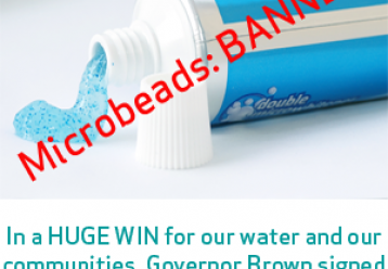 Microbeads banned!