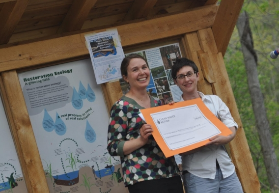 Mt. Holyoke College Restoration Ecology Program receives $50,000 from Clean Water Act settlement