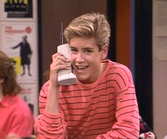 If Zack Morris can upgrade his phone, can